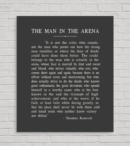 man in arena